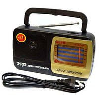 Радиоприемник Kipo KB-408AC (сеть+батарейки)