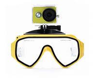 Xiaomi mask underwater yellow