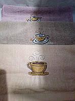 """Кухонные махровые полотенца 67""""32"""