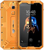"""Homtom ZOJI Z8 orange IP68 4/64 Gb, 5"""", MT6750, 3G, 4G, фото 1"""