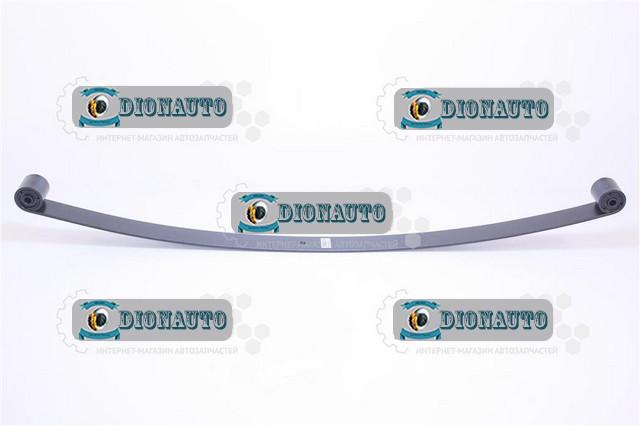 Лист 1 передней рессоры (постоянного сечения) с шарнирами ГАЗ-2217 (Соболь) (3302-2902101-10)