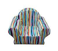 Крісло дитяче смужки