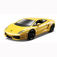 Авто-конструктор 1:32 1:43 Bburago Lamborghini Gallardo LP560-4 2008 желтый металлик g18-45128
