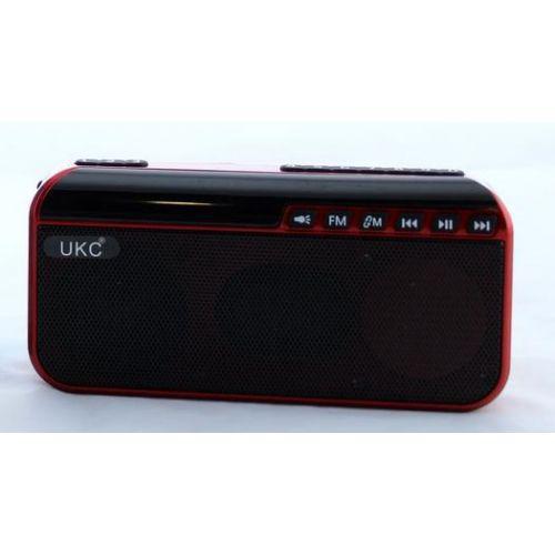 Портативная колонка с фонариком UKC TC-2488 работает от аккумулятора 18650