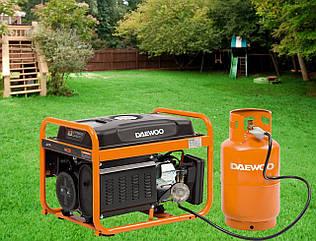 Газобензиновый генератор Daewoo GDA 3500DFE