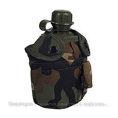 Армейская фляга с подстаканником USA Mil-tec в чехле (0.8 L) (14506020), фото 3