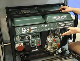 Дизельный генератор Konner & Sohnen KS 9000 HDE-1/3