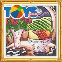 Цветы и фрукты, набор для вышивки крестиком, J049