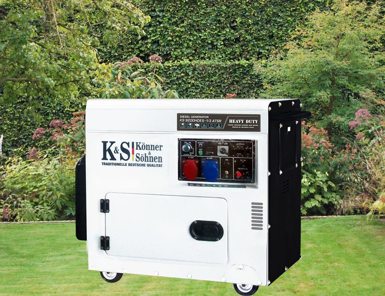 Дизельный генератор Könner&Söhnen KS 9200 HDES-1/3 ATSR (000001574)