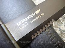 Нож mora BushCraft BLACK SRT 12418, фото 3