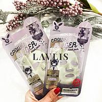 Тканевая маска молочно-цветочная для упругости кожи Elizavecca Face Care Milk Deep Power Ring Mask Pack