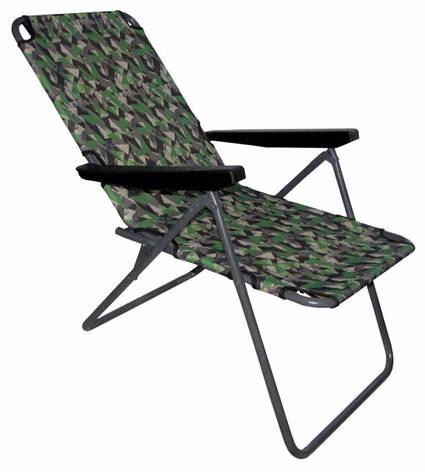 """Шезлонг """"Эко"""" раскладное кресло лежак для рыбалки и отдыха, фото 2"""