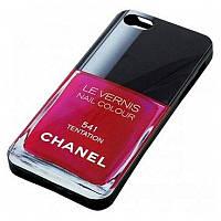 Чехол Chanel Le Vernis Case Tentation for iPhone 5/5S (541) Розовый
