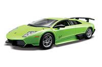 Авто-конструктор 1:24 Bburago Lamborghini Murcielago LP670-4 SV зеленый g18-25096