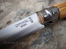 Нож Opinel (опинель) Inox Natural №8 VRI Oliv (000899), фото 3
