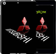"Чехол на iPad 5 (Air) Mitsubishi. Logo v3 ""3128c-26-851"""