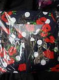 Женский велюровый халат большого размера, фото 2