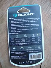 Фонарь Olight LED I3E-TX красный с батарейкой (I3E-RED), фото 3
