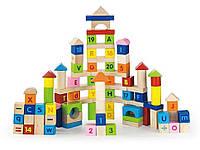 Набор кубиков Viga Toys Алфавит и числа 50288