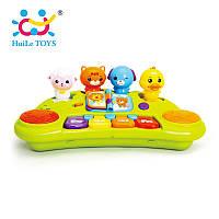 """Игрушка музыкальная Huile Toys """"Пианино со зверятами"""" 2103A"""