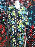 Велюровый женский халат 58-62 рр., фото 5