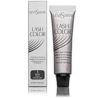 Краситель для бровей и ресниц Levissime Lash color. Выбор цвета. Краска, Чёрный