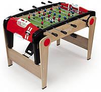 Деревянный полупрофессиональный футбольный стол Millenium складной Smoby Toys 620500