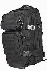 Штурмовой (тактический) рюкзак ASSAULT S Mil-Tec by Sturm Black 20 л. (14002002), фото 2