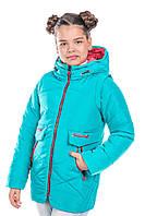 """Демисезонная  куртка-жилетка  для девочки """"Принцесс"""""""