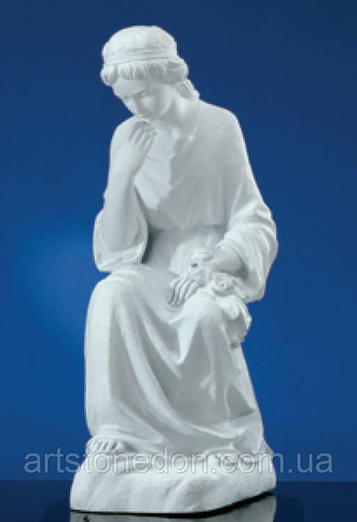 Статуя  Скорбящая из мраморополимера №122