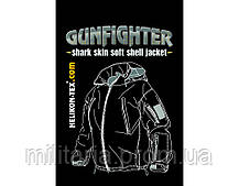 Куртка Helikon Gunfighter Soft Shell Jacket Black S, M, L, XL, XXL (KU-GUN-FM-01), фото 3