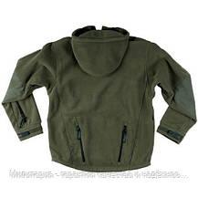 Флисовая кофта с капюшоном Helikon-Tex Patriot Heavy Fleece Jacket-Olive Green S, M, L, XL, XXL, 3XL/regular, фото 3