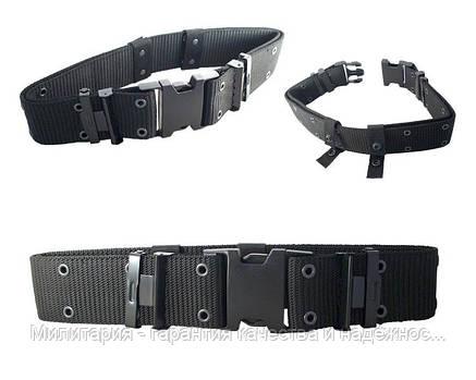 Тактический ремень MilTec LC2 US Black (13310002), фото 2