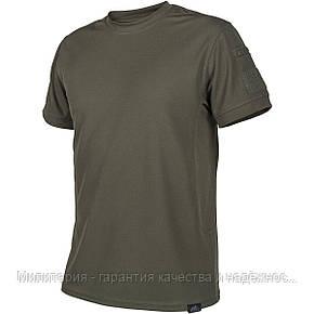 Тактическая футболка Tactical T-shirt Helikon TopCool Olive Green (TS-TTS-TC-02), фото 2