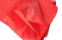 Бумага упаковочная Тишью 50*70см - набор 10л. красная