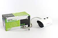 Цветная видеокамера Digital 635 в металлическом корпусе для уличной установки с интеллектуальной ИК подсветкой