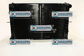 Радиатор охлаждения 3302, 2705, 2217, Газель крепление ухо 2-рядный медный ШААЗ  (330242-1301010-01)