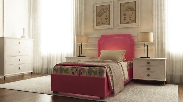 Фото: ліжко односпальне