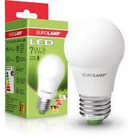 LED лампа EUROLAMP A60 7W яркий свет 220V E27