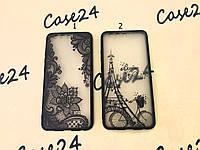 TPU чехол накладка Graphic для Huawei P10 Plus (2 вида)
