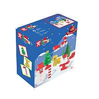 Детский конструктор Nobi Base Christmas 120 деталей разноцветных
