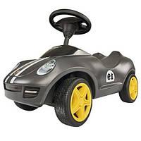 Машинка каталка Big Baby Porsche серая 005 6346