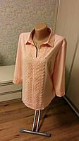 Женская блуза  размеры 50-56