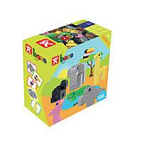 Детский конструктор Nobi Base Africa 120 деталей разноцветных