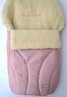 Детский зимний конверт (овчина) Womar № 25 (zafiro), цвета для девочек