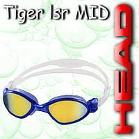 Очки TIGER MID зеркальное покрытие (Синие)