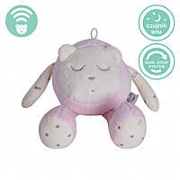 Myhummy - успокаивающая музыкальная мягкая игрушка с белым шумом. Кругляшок розовый