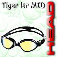Очки TIGER MID зеркальное покрытие (Черно-дымчастый)