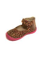 Стильные туфли  леопардовый принт. размер 21