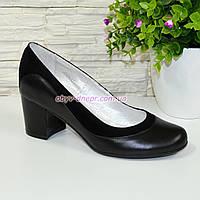 60b7c5d41 Женские классические туфли на невысоком устойчивом каблуке, натуральные кожа  и замша